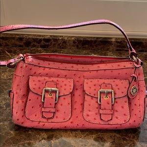 Dooney & Bourke | Pink Ostrich Zipper Handbag 💗